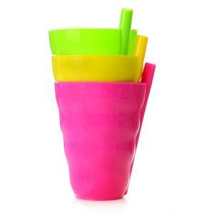 כוס קש שלישייה