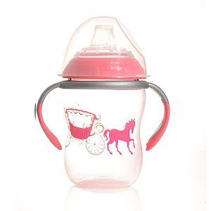 כוס אימון יוקרתית + ידיות, לא מטפטפת כוס אימון חזקה ואיכותית, בעלת מכסה מתברג ופיית סיליקון רכה. הכוס מסייעת לגמילה מהבקבוק. הכוס אינה מכילה שסתום, אך פיית הסיליקון עשויה באופן מיוחד המונע נזילות, גם כאשר הכוס הפוכה.
