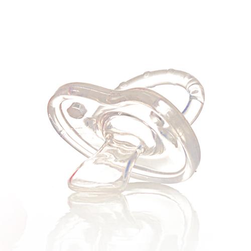 מוצץ סיליקון פיזיולוגי המיוצר מיציקה אחת של סיליקון רך, בטיחותי לשימוש, לא ניתן לפירוק. מועדף על התינוקות בשל הגמישות והרכות של גוף המוצץ. מבנה הפטמה האורטודנטי מותאם למבנה הפה של התינוק, ומונע בעיות פה ולסת.