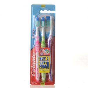 מברשת שיניים קולגייט אקסטרה, שלישיה